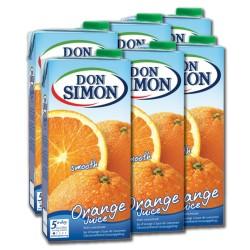 Zumo DON SIMÓN, naranja 6 uds.