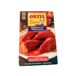 Pimiento ORTIZ 325 gr. R/Bonito