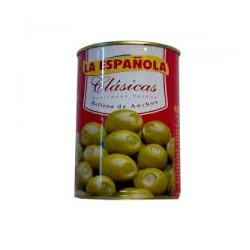Aceituna rellena de anchoas LA ESPAÑOLA 300 gr.