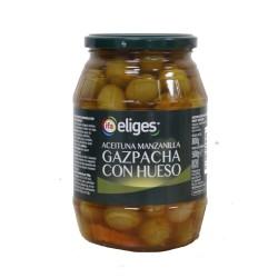 Aceituna verde gazpacho IFA ELIGES o similar 500 gr.