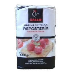 Harina de trigo repostería Gallo, 1 kg