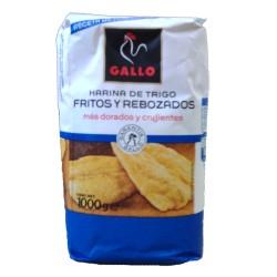 Harina de trigo fritos y rebozados Gallo, 1 kg
