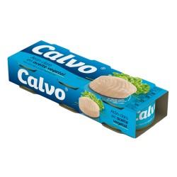 Atún aceite girasol CALVO, 80 g