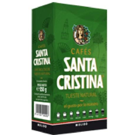 Café SANTA CRISTINA natural molido