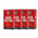 Café SANTA CRISTINA descafeinado molido, 4 uds.