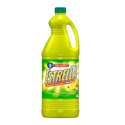 Lejía con detergente ESTRELLA limón
