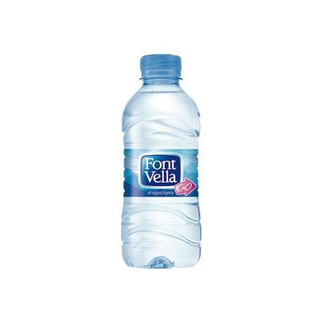 Agua mineral FONTVELLA, 0,5 l Pack 24 uds.
