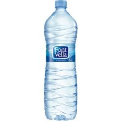 Agua mineral FONT VELLA, 1,5l Pack 6 uds.