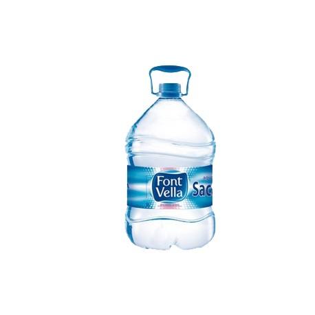 Agua mineral FONTVELLA, 6,25 l Pack 3 uds
