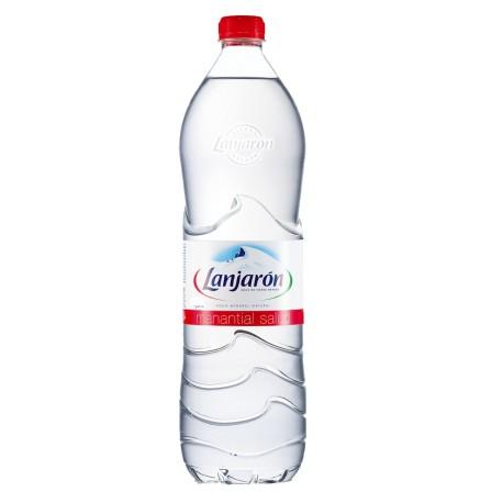 Agua mineral LANJARÓN, 1,5l Pack 6 uds.