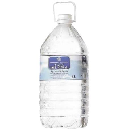 Agua mineral AGUA DEL ROSAL, 6,25 l