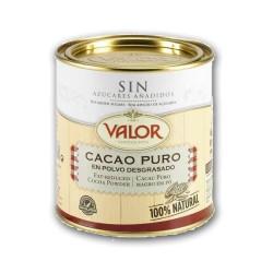 Cacao puro VALOR  en polvo 250 g