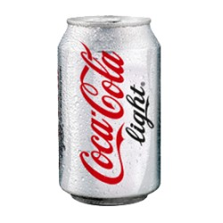 Coca-Cola  light 33cl, Pack 24 uds.