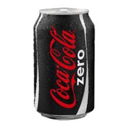 Coca-Cola  zero 33cl, Pack 24 uds.