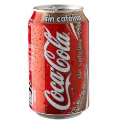 Coca-Cola  sin cafeína 33cl, Pack 24 uds.
