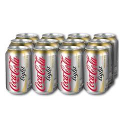 Coca-Cola  light 33cl, Pack 12 uds.