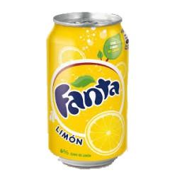 Fanta limón  33cl, Pack 24 uds.
