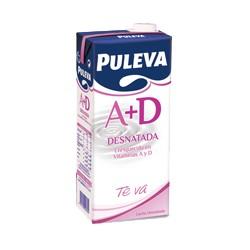 Leche desnatada Puleva, 1l Pack 6 uds.