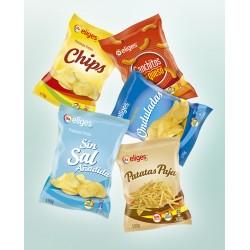Patatas fritas lisas IFA ELIGES o similar 170 gr.