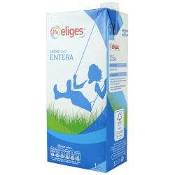 Leche entera IFA Eliges (o similar), 1l Pack 6 uds.