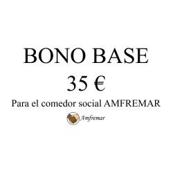 BONO 35€ PARA EL COMEDOR SOCIAL AMFREMAR