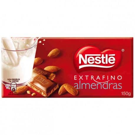 Chocolate almendras NESTLÉ 125 gr.