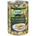 Alcachofas ALSUR T/ 390 gr.