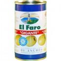 Aceituna anchoa EL FARO 350 gr.