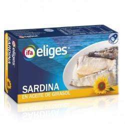 Sardina aceite de girasol IFA ELIGES 90 gr.