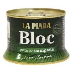 Paté bloc de campaña LA PIARA 150 gr.