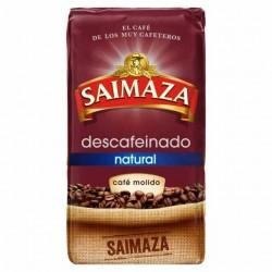 Café descafeinado natural molido SAIMAZA 250 gr.